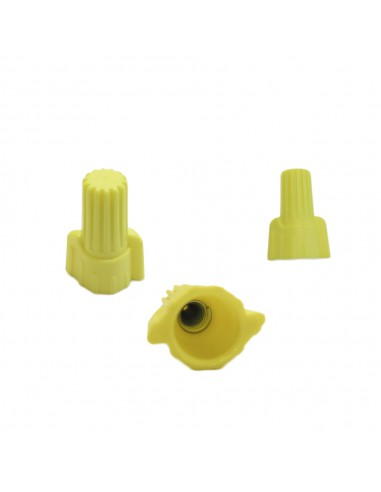 Yellow Winged Wire Connector